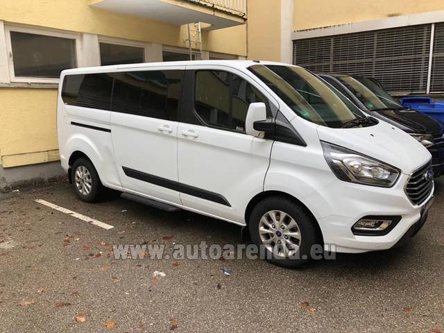 Аренда авто Ford Tourneo Custom 9 мест в Чехии