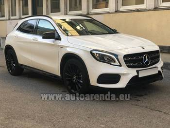Аренда автомобиля Mercedes-Benz GLA 200 в Усти-над-Лабем