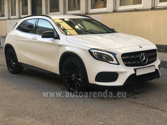 Аренда авто Mercedes-Benz GLA 200 в Чехии