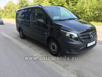 Аренда автомобиля Mercedes-Benz VITO Tourer, 9 мест в Брно