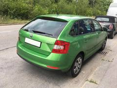 Автомобиль ŠKODA Rapid Spaceback для аренды в Чехии