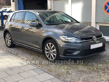 Аренда автомобиля Volkswagen Golf 7 в аэропорту Прага