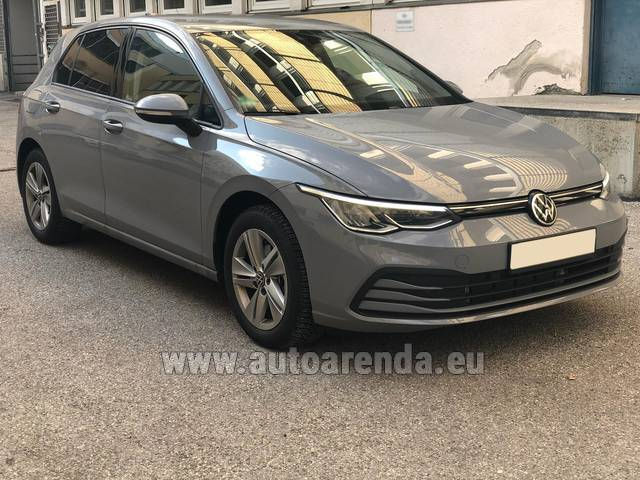 Аренда авто Volkswagen Golf 8 в Чехии