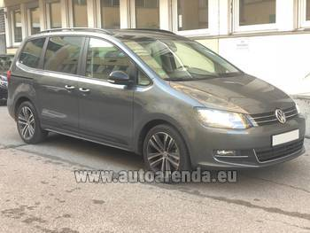Аренда автомобиля Volkswagen Sharan 4motion в Пльзене