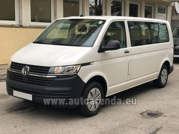 Аренда автомобиля Volkswagen Transporter Long T6 (9 мест) в Карловых Варах